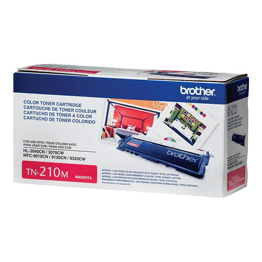 BROTHER TONER TN-210M PARA 1400 PAGiNAS MAGENTA