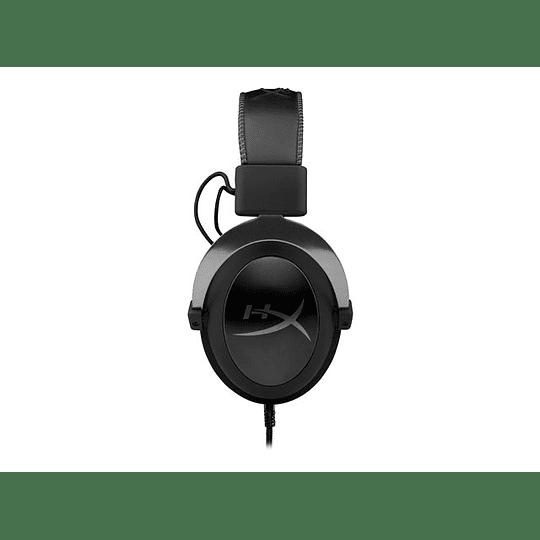 HyperX Audífono Cloud II (Gun Metal) sonido surround V 7.1