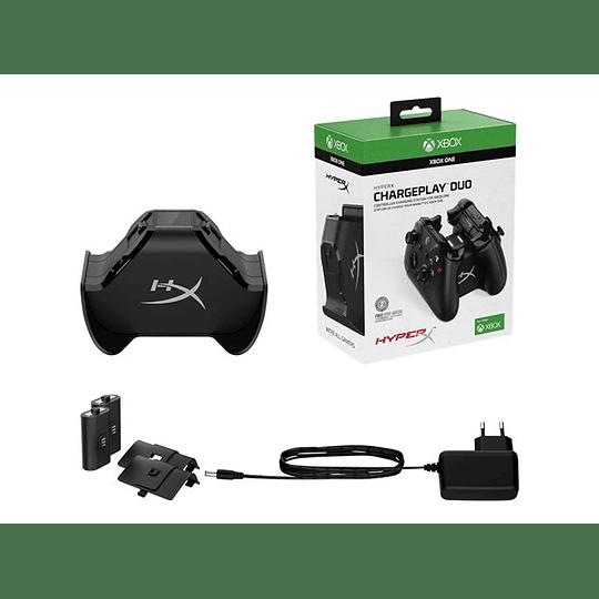 HyperX Cargador CharguePlay Duo P-Xbox 1400mAh cable 2m