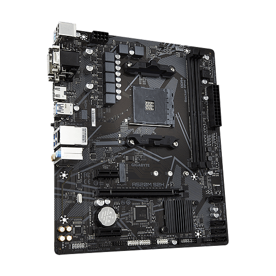 Gigabyte Placa madre A520M S2H micro ATX DDR4