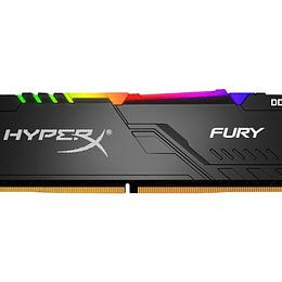 HyperX 16GB 3200MHz DDR4 DIMM FURY RGB
