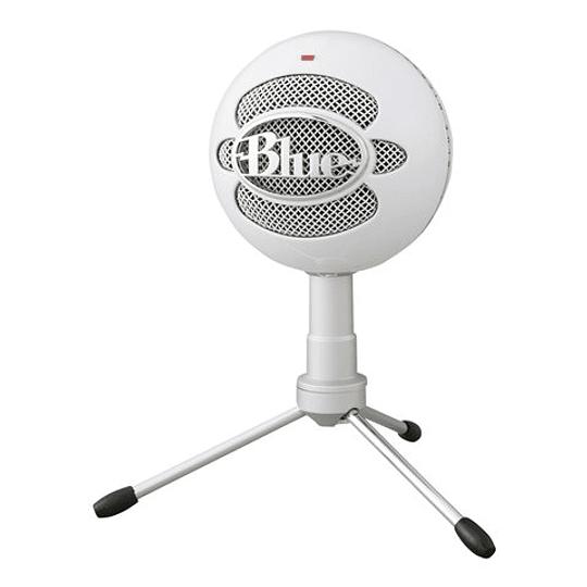 Logitech Blue Microphone Snowball Ice White