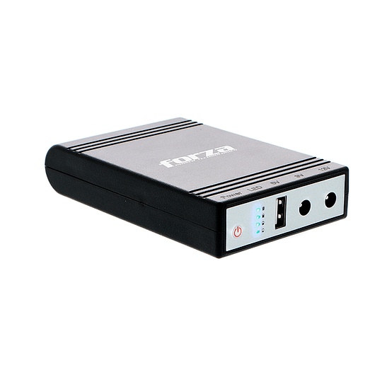 Forza Mini-UPS Portatil DC 14watts USB 5-9-12V