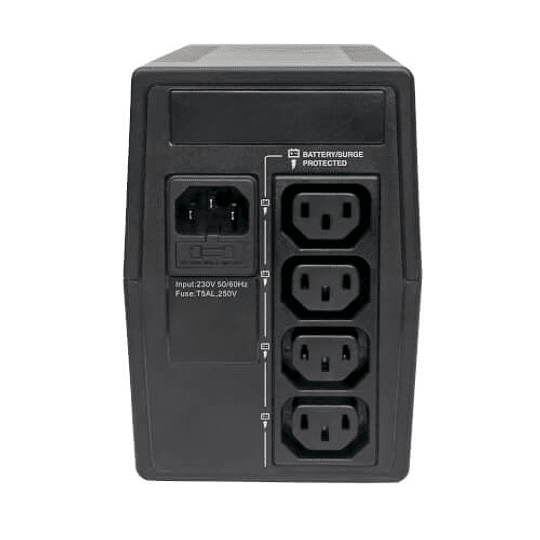 TRP UPS 650VA Torre Interactivo C13(4) Ultra Compacto