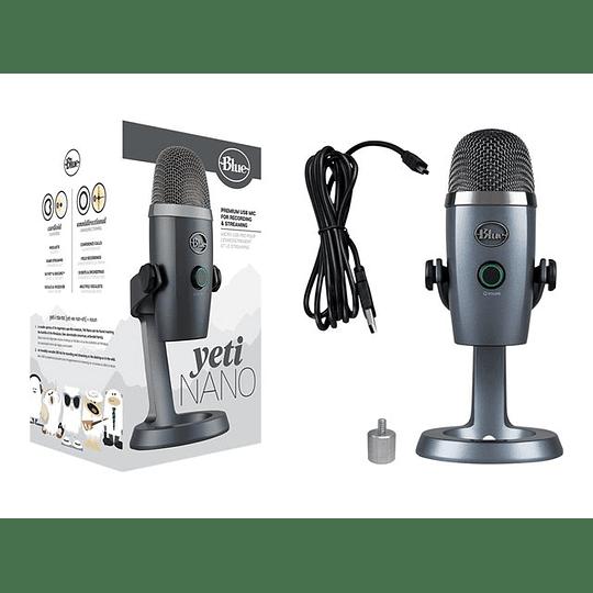 Logitech Micrófono Blue  Yeti Nano