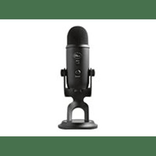 Logitech Blue Yeti Microfono Profesional BlackOut Edition USB