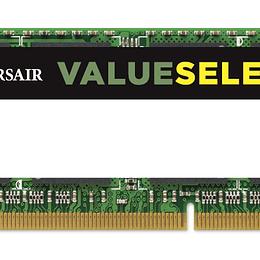 Corsair Memoria RAM 8GB DDR3L 1600MHz SODIMM
