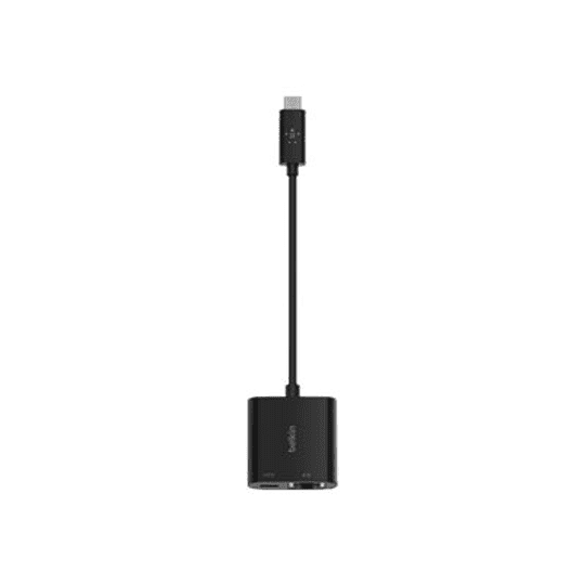 Belkin Adaptador USB-C to Ethernet + Charge Adapter 60W PD