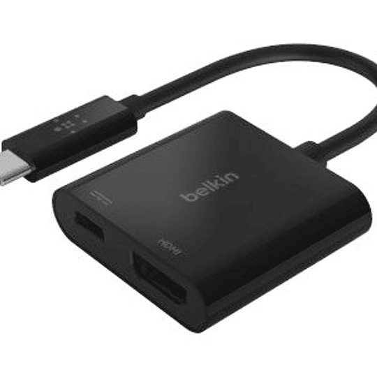 Belkin Adaptador USB-C to HDMI + Charge Adapter 100W