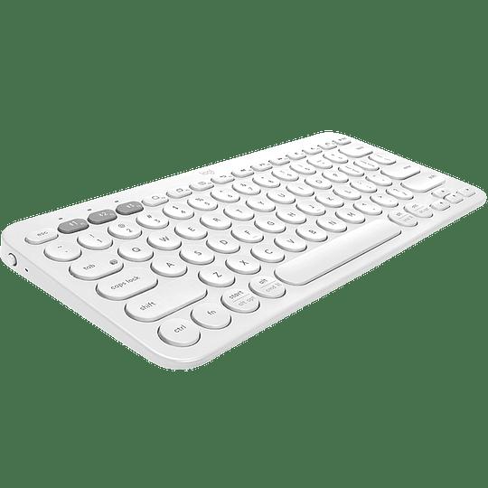 Logitech Teclado K380 Multi Dispositivo Bluetooth Blanco
