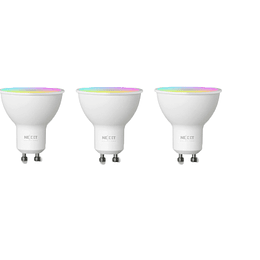 Nexxt Home Bombillas LED Inteligente 3 unidades Color RGB