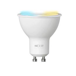 Nexxt Home Ampolleta Inteligente GU10 Blanca Calida