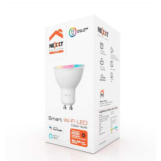 Nexxt Home  Bombilla LED inteligente RGB