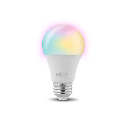 Nexxt Home Bombilla LED inteligente WIFI multicolor