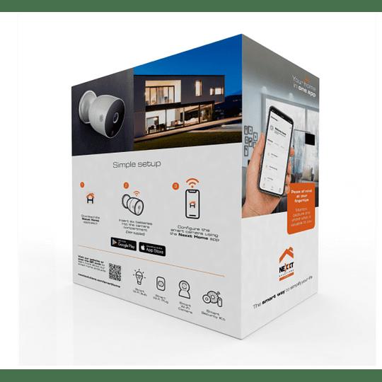 Nexxt Home Cámara con batería para exteriores 1080p