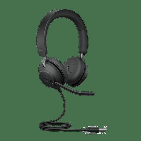 Jabra Headset Evolve2 40 MS USB A