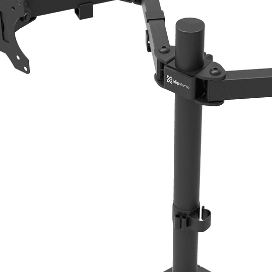 Klipxtreme soporte para doble monitor 13-32