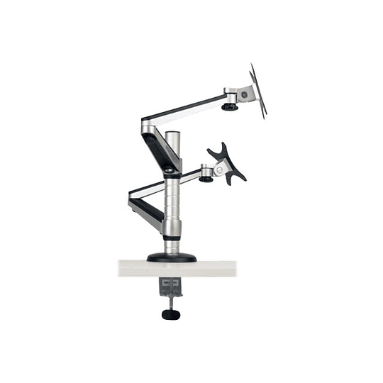Tripp-Lite Soporte Doble de Escritorio Articulado de Brazo Flexible  para Monitores de 13
