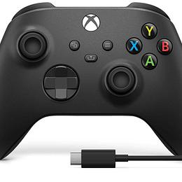 Microsoft control xbox inalambrico + cable USB-C 2.7mts
