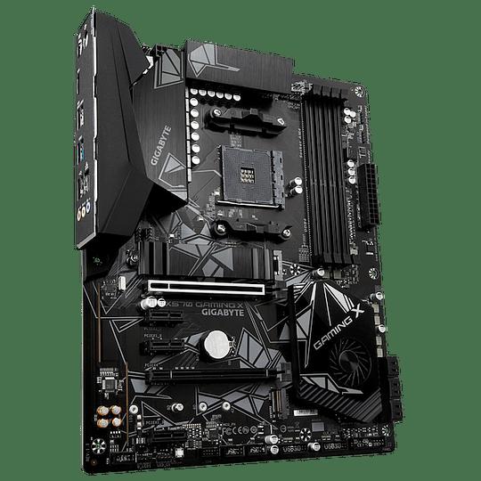Gigabyte X570 GAMING X Placa Madre , ATX, Socket AM4, AMD Ryzen 3000 Desktop Ready