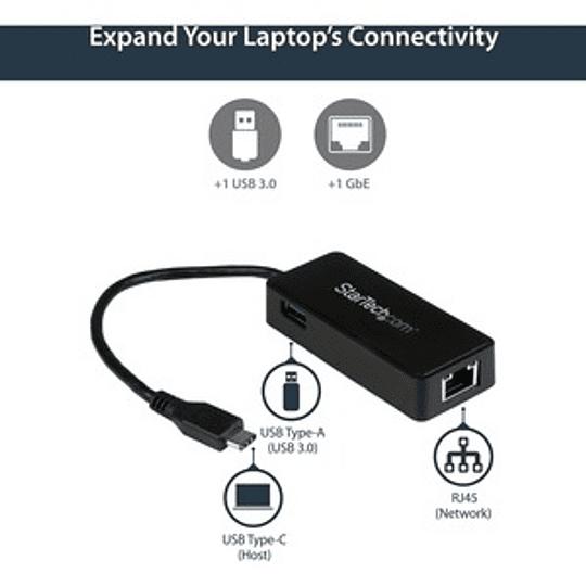 StarTech Adaptador Red Gigabit USB-C