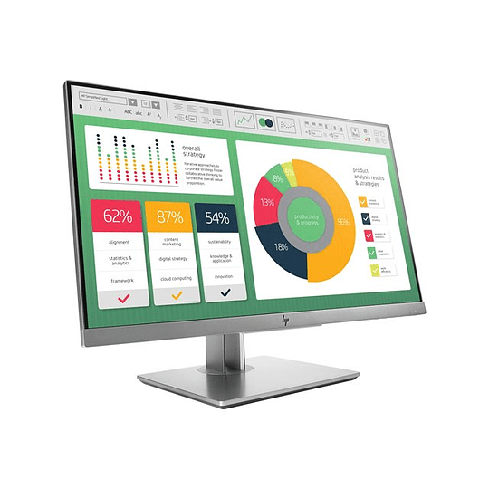 HP EliteDisplay E223 LED monitor Full HD (1080p) - 21.5
