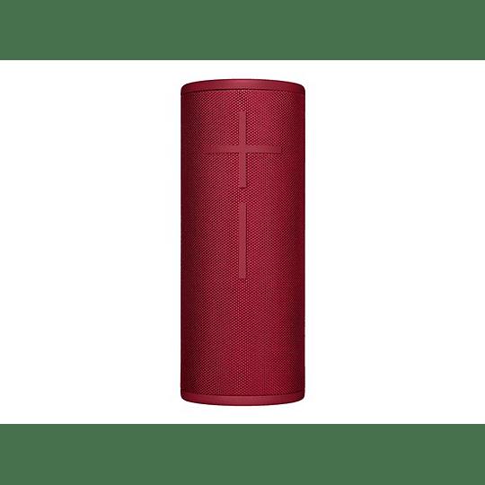 Logitech Parlante Bluetooth UE Megaboom 3 Sonido 360 Rojo