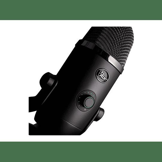 Logitech  Micrófono azul  Yeti X gris oscuro