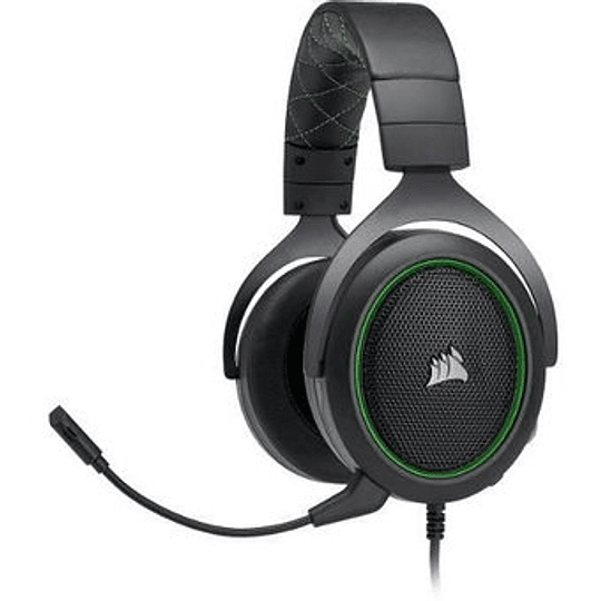 Corsair Audifonos Gaming HS50 Green