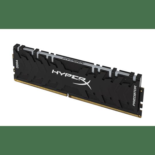 Memoria RAM HyperX Predator RGB de 8GB
