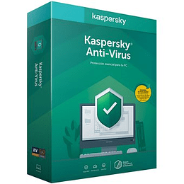 Kaspersky Anti Virus 1 PC 1 Año