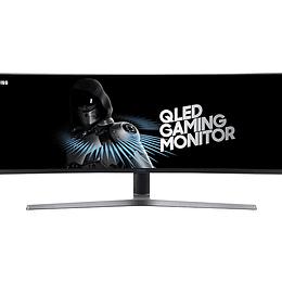 "Samsung Monitor Gamer QLED Pantalla Curva Súper Ultra Ancha 49"""
