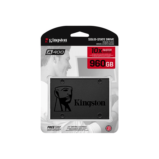 Kingston SSD A400 de 960 GB