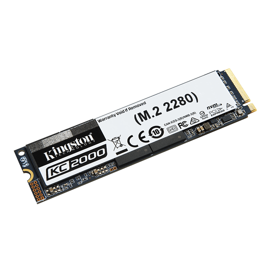 Kingston SSD NVMe KC2000 500GB PCIe Gen 3.0
