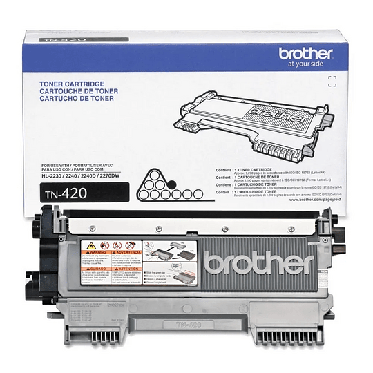 Brother TN-420 Black Toner Cartridge