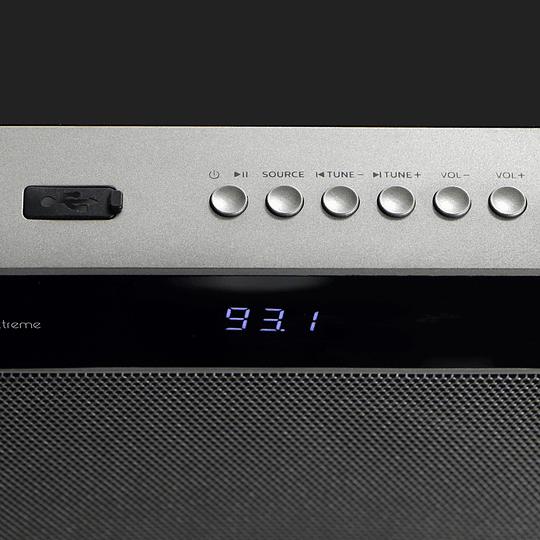 KlipX barra de sonido 2.1 canales 200 Watt