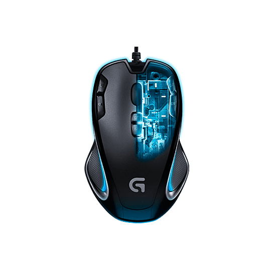 Logitech Mouse Gaming G300S Optical Black