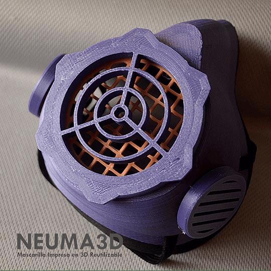 Mascarilla Reutilizable Neuma 3D Adultos
