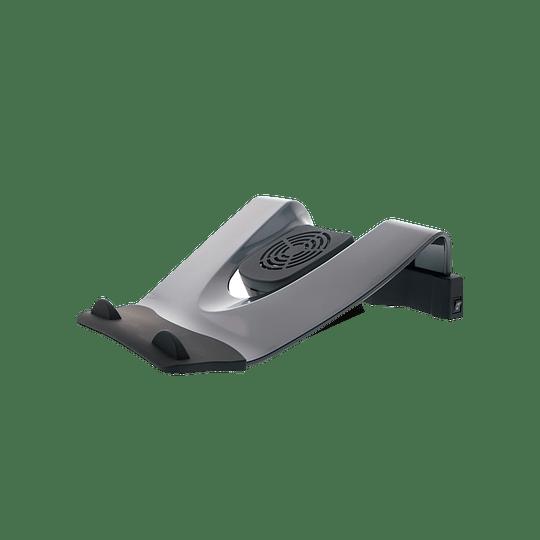 KlipX KNS-110B Base Notebook Ventilador + Puertos 4 USB