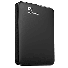 Western Digital Disco Externo Elements 4TB + Funda Transporte