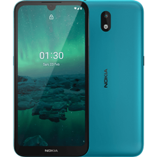 Nokia 1.3 Smartphone Android Cyan