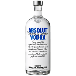 VODKA ABSOLUT BOTELLA  700ml