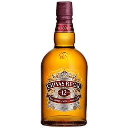 WHISKY CHIVAS  12 AÑOS BOTELLA 700 ml