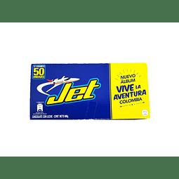 Chocolatina Jet DPx50 UNIDADES