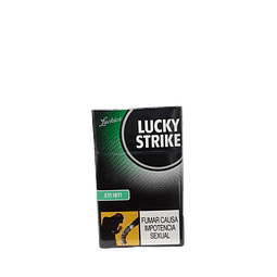 1.3 CIGARRILLO LUCKY STRIKE GYN PAQUETE x20