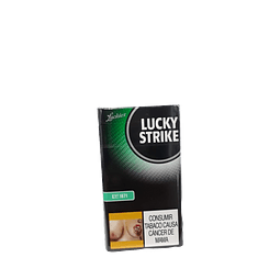 1.2 CIGARRILLO LUCKY STRIKE GYN PAQUETE x10 UND