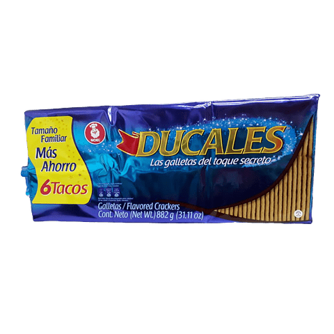 DUCALES x6 TACOS