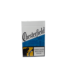 CIGARRILLOS CHESTERFIELD BLUE PAQUETE x20 UNIDADES