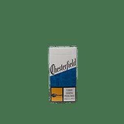 CIGARRILLOS CHESTERFIELD BLUE MEDIA X10 UNIDADES