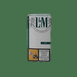 CIGARRILLO L&M MENTHOL EVO  MEDIO x10 UNIDADES